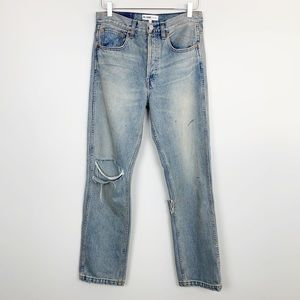 RE/DONE | Grunge Straight Jeans Dirty Destroy 27